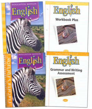 Houghton Mifflin English: Grade 5 Homeschool Kit