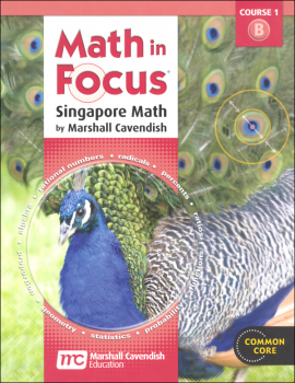 Math in Focus Course 1 Student Book B (Gr 6)