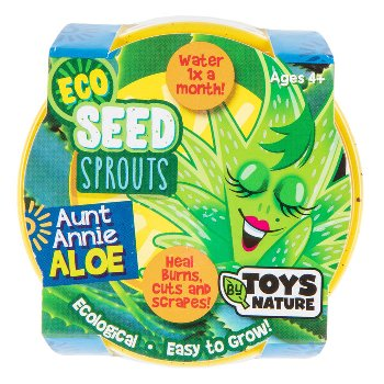 Aunt Annie Aloe (Eco Seed Sprouts)
