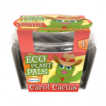 Caring Carol Cactus (Eco Seed Sprouts)