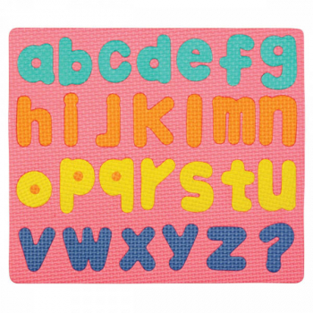 Wonderfoam Magnetic Lower Case Letter Puzzle Set