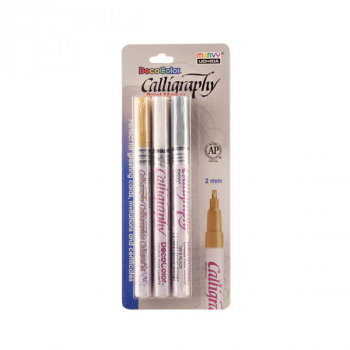 DecoColor Calligraphy Paint Marker - Pack of 3