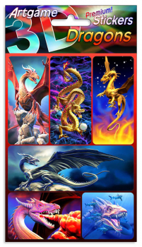 Dragons 3D Stickers