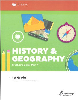 History 1 Lifepac Teacher's Guide - Part 1