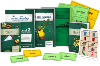 All About Reading Level 2 Materials Color Edition
