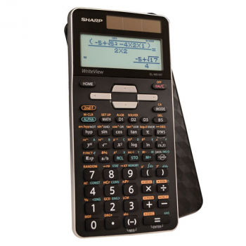Advanced Scientific Calculator with WriteView 4 Line Display & Solar Powered