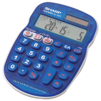 Handheld Math Quiz Calculator