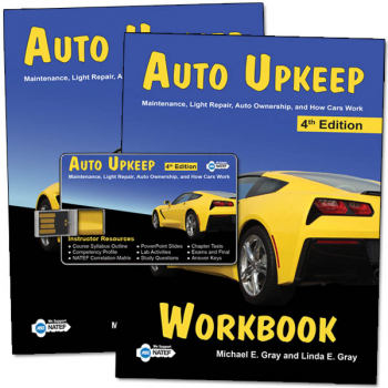 Auto Upkeep Homeschool Curriculum Kit 4ED