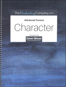Character Zaner-Bloser - Advanced Cursive