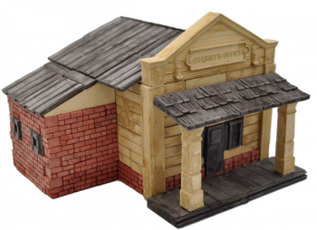Sheriff's Office (Ghost Town) 290 Piece Mini Bricks Construction Set