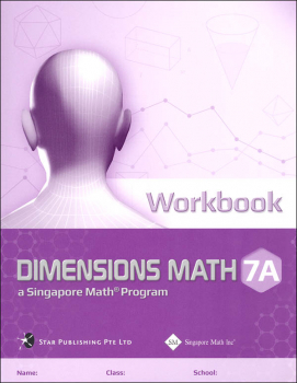 Dimensions Math CCSS Workbook 7A