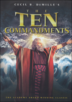 Ten Commandments blu-ray