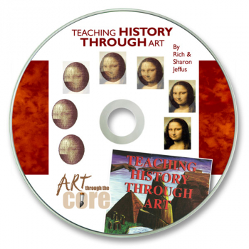 Teaching History Through Art CD