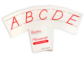 Rhythm of Handwriting Manuscrpt Tactile Cards