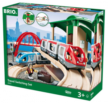 BRIO Railway Travel Switching Set
