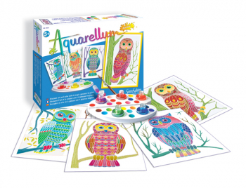 Aquarellum Junior - Owls