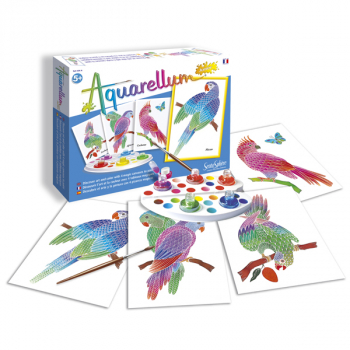 Aquarellum Junior - Parrots