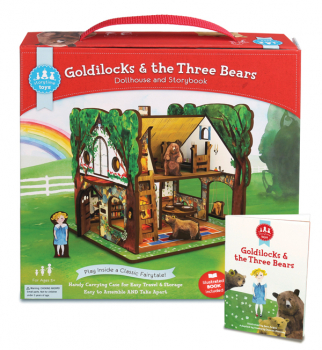 Goldilocks and the Three Bears Play Set