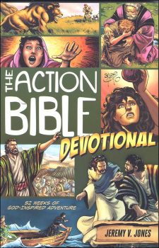 Action Bible Devotional: 52 Weeks of God-Inspired Adventure
