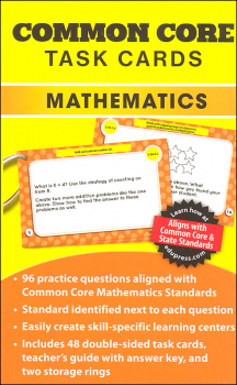 Common Core Math Task Cards Grade 2
