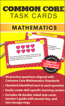 Common Core Math Task Cards Grade K
