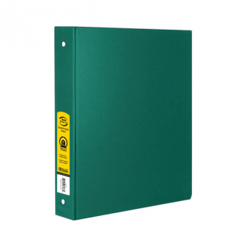 "Binder - 3-Ring 1"" wide with Pockets (Green)"