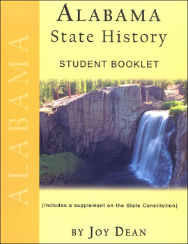Alabama State History from a Christian Perspective Student Book only