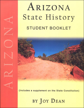 Arizona State History from a Christian Perspective Student Book only