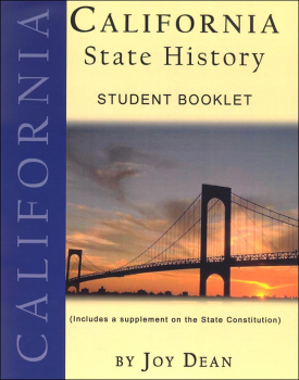 California State History from a Christian Perspective Student Book only