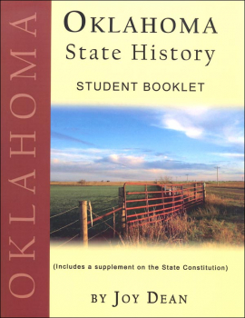 Oklahoma State History from a Christian Perspective Student Book only