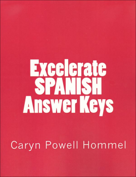 Excelerate Spanish Answer Keys