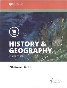 History 7 Lifepac - Unit 1 Worktext