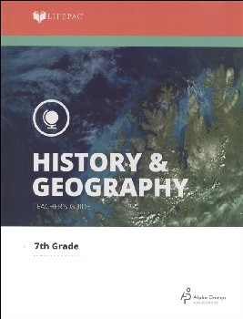 History 7 Lifepac Teacher's Guide