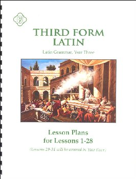 Third Form Latin Lesson Plans