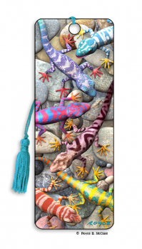 Geckos 3D Bookmark