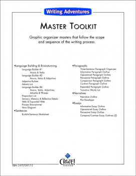 Writing Adventures Master Toolkit