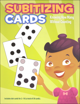 Subitizing Cards - Knowing How Many Without Counting