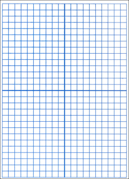 "Math Dry Erase XY Axis/Dry Erase Dual Sided (9"" x 12"")"