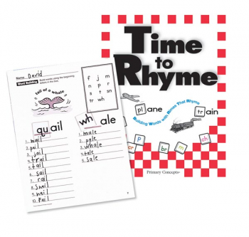Time to Rhyme Book
