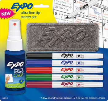 Expo Low Odor Ultra Fine Starter Set (Set/5)