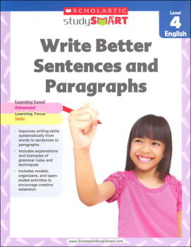 Write Better Sentences and Paragraphs Grade 4 (Study Smart)