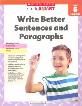 Write Better Sentences and Paragraphs Grade 5 (Study Smart)