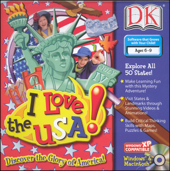 I Love the USA! CD-Rom