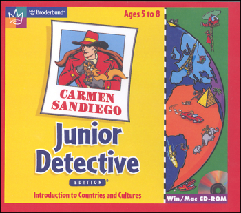 Carmen SanDiego Junior Detective CD-ROM