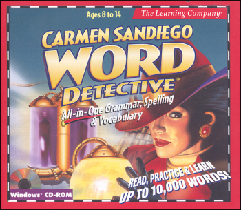 Carmen SanDiego Word Detective CD-ROM