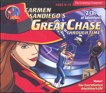 Carmen SanDiego's Great Chase Through Time CD-ROM