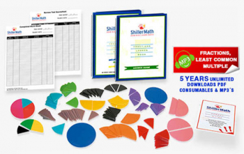 Shiller Math Fractions Kit