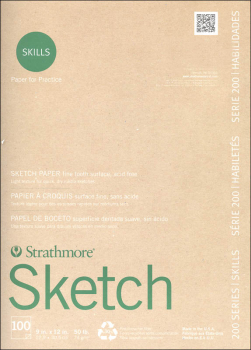 "Strathmore Vision Sketch Pad 9"" x 12"" (110 sheets)"