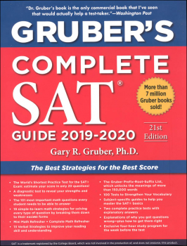 Gruber's Complete SAT Guide 2019-2020 21st Edition