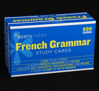 French Grammar SparkNotes Study Cards